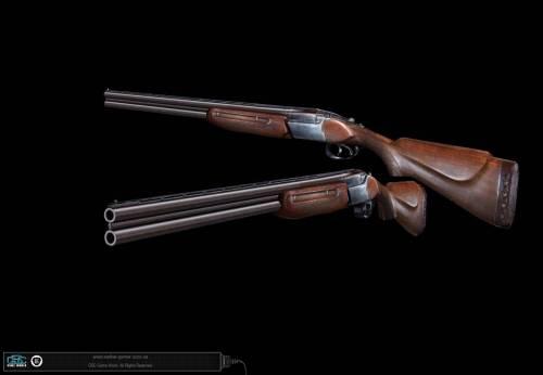 Охотничье ружье.